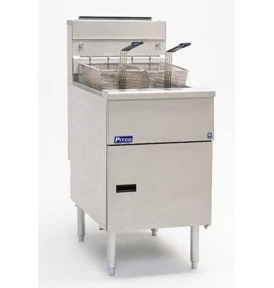 Pitco Fryer Gas Milivolt | Pitco SG18S | 40kW | Oil 34kg | 100kg / h | 498x876x863 (h) mm