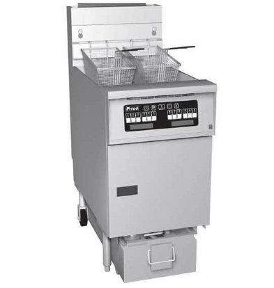 Pitco Friteuse Gas Computer | Pitco SG18S | 40kW | Olie 34Kg | 100Kg/u | 498x876x863(h)mm