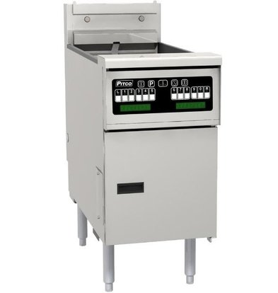 Pitco Friteuse Elektrisch Computer | Pitco SE18 | 22kW | Olie 41Kg | 105Kg/u | 499x873x864(h)mm