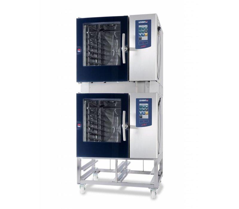 Leventi Combisteamer Leventi ME 1:06 BDI | 4x / 5x / 7x AND 400x600 or GN 1/1 | 9kW / 3x 400V | 899x831x827 (h) mm