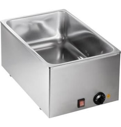 Saro Bain Marie | 1/1 GN | 1kW | 540x334x(H)225mm - Made in Italy