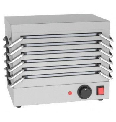 Saro Rechaud - 6 sheets of aluminum - 800W - Stainless Steel - 365x245x (H) 310mm