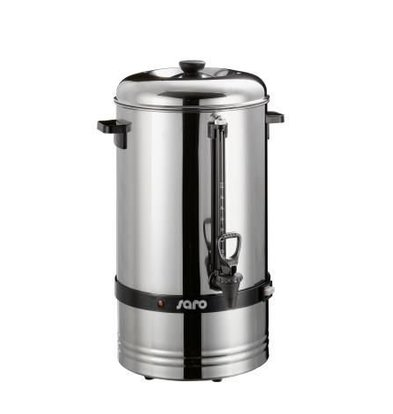 Saro Stainless Percolator | No Filter Needed | Ø275x (H) 540mm | 78 Cups | 10 Liter