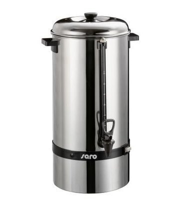 Saro Percolator RVS | Geen Filter Nodig | Ø275x(H)600mm | 100 Kopjes | 15 Liter
