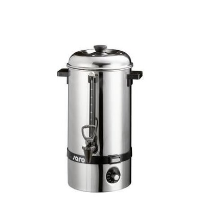 Saro Hot water boiler SS / Glühwein kettle | faucet | Ø225mm | 10 liter