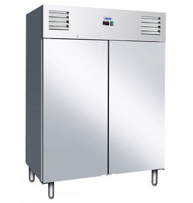 Saro Stainless steel Freezer - 1400 Ltr - 148x83x (h) 201cm - 2 year warranty - Fully Stainless Steel