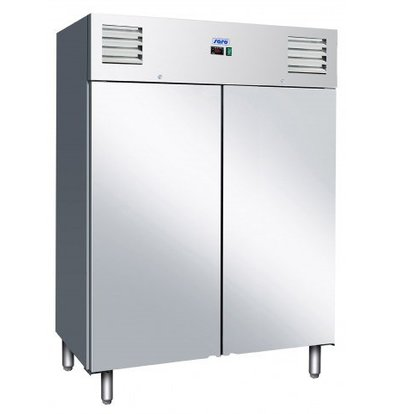 Saro Fridge - Stainless steel - 1400 liter - 2 year warranty