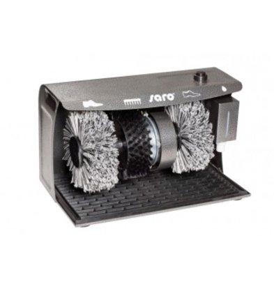 Saro Schoenpoetsmachine DELUXE | 3 Borstels | 400x240x258(h)mm