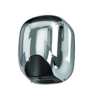 VAMA Handdroger Chroom | Superzuinig | 10 - 12 sec | SLECHTS 550W MAAR ZEER KRACHTIG!