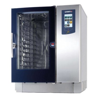 Leventi Bake-off Oven Leventi YOU 8 | 18kW/400V | 8x/10x/11x EN 60x40, GN, Trolleysysteem | 899x831x1087(h)mm