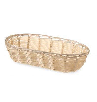 Hendi Bread Basket Oval - Poly Rattan - 230x100x (h) 60mm
