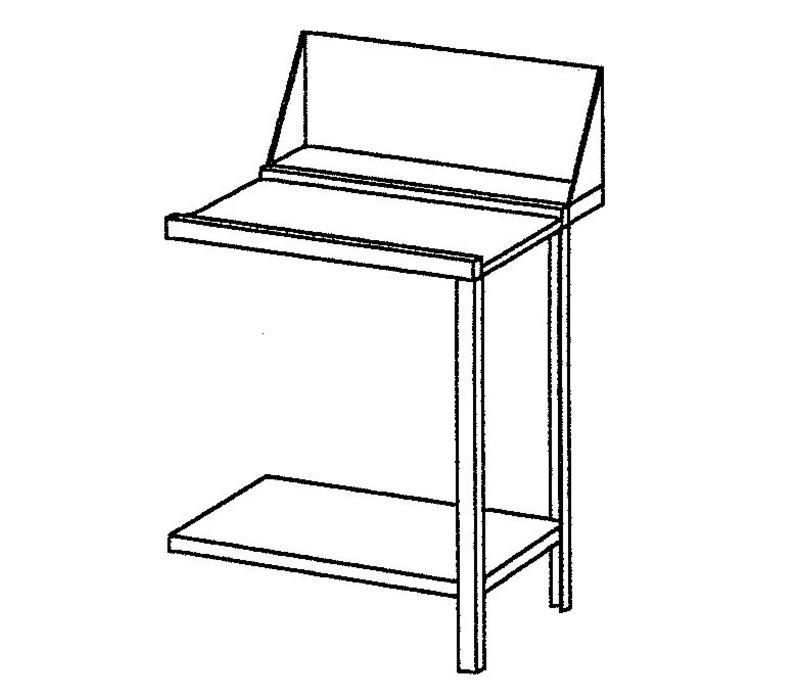 Bartscher Afvoertafel - 70 cm Rechts
