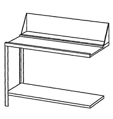 Bartscher Entry/Exit table, left