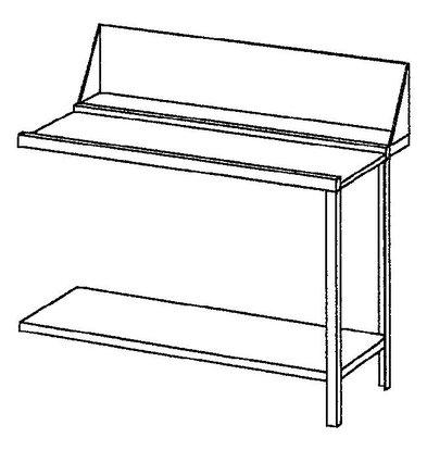 Bartscher Aan- of afvoertafel rechts