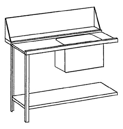 Bartscher Pre-clearing table, left