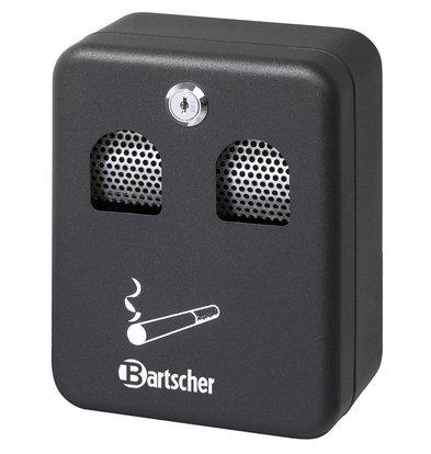 Bartscher Wall ashtray Steel Cans | 1 liter | Easy to Legen | 160x90x (h) 200mm