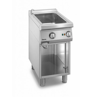 Bartscher Electrical 1/1 GN Bain-Marie | With water supply tap | 400x700x (H) 850-900mm