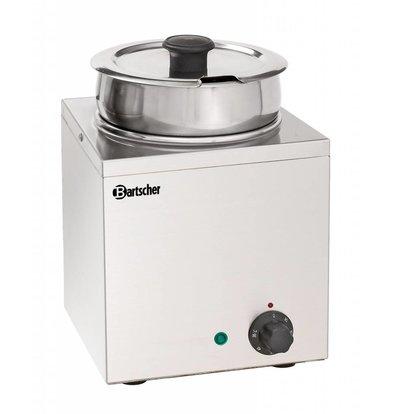 Bartscher Hotpot | Bain Marie | Stainless steel | 1x3,5 Liter | 210x210x (H) 320mm