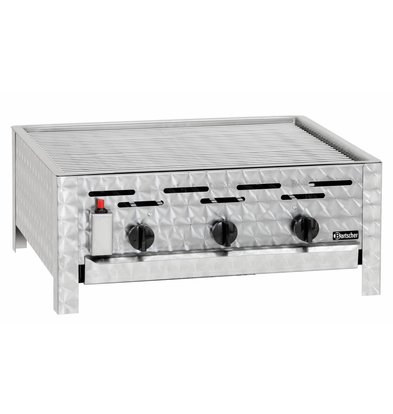 Bartscher Gas combi-table roasting grill