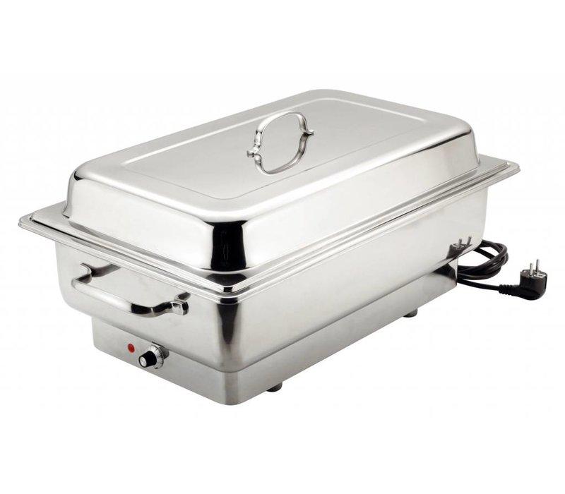 Bartscher Elektrische Chafing Dish | Chroomnikkelstaal | 1/1GN | Delluxe | 623x356x(H)285mm