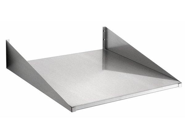 Bartscher Console / Wandplank RVS 60x60cm