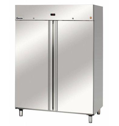 Bartscher Freezer for 2/1 GN - 140x81x (h) 188cm - 1400 Liters.
