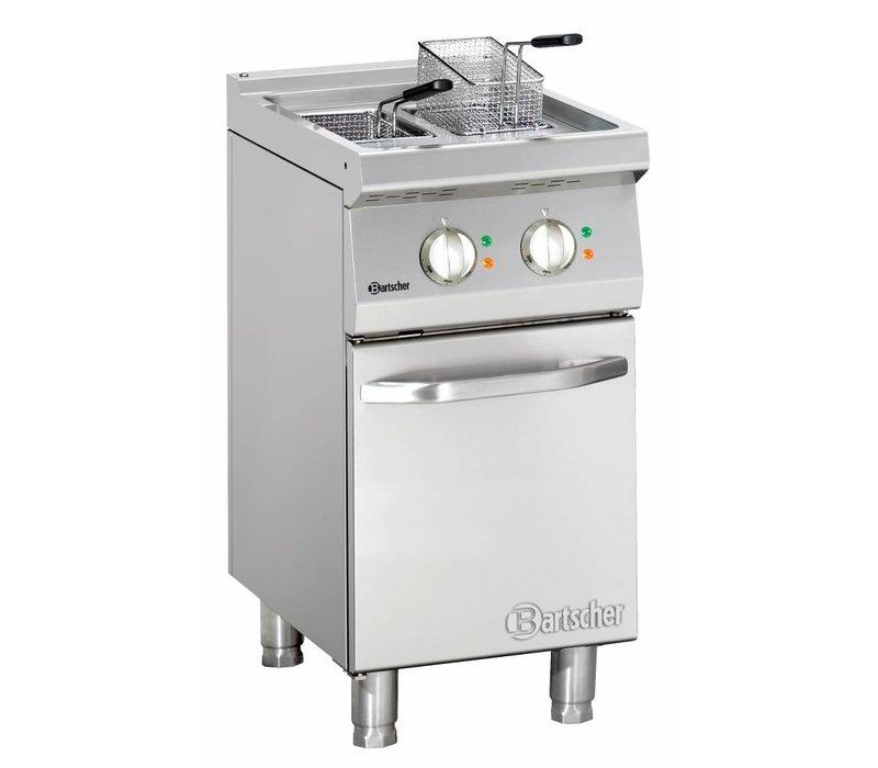 Bartscher Friteuse | Elektrisch | 2 x 9 Liter | 400V | 15kW | Met Onderstel | 400x700x(h)850-900mm