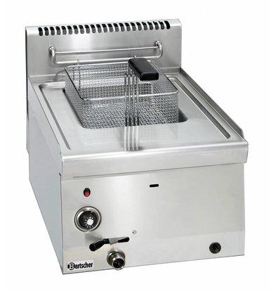 Bartscher Gas Friteuse | 1x8 Liter | Serie 600 | 6,7KW | 400x600x(H)290mm