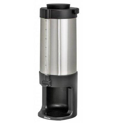 Bartscher Dubbelwandige Heetwaterdispenser | RVS | Vulstandindicator | 3 liter
