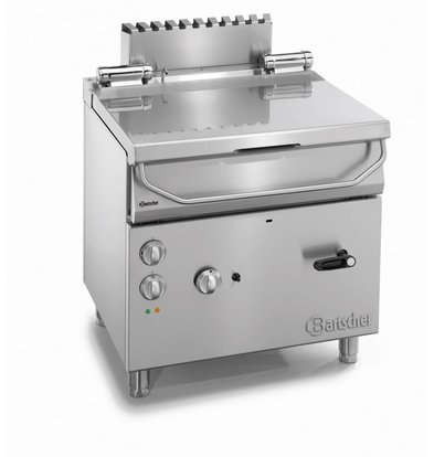Bartscher Gas Tilting Fryer | Series 700 | 12.5 kw | 230V | 800x700x (H) 850-900mm