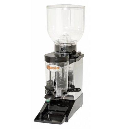 Bartscher Koffiemolen model Space RVS | 402W | 165x390x(H)585mm