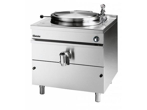 Bartscher Elektrische Kookketel Indirecte Verhitting - 100L - 900x900x(h)900mm - 16KW