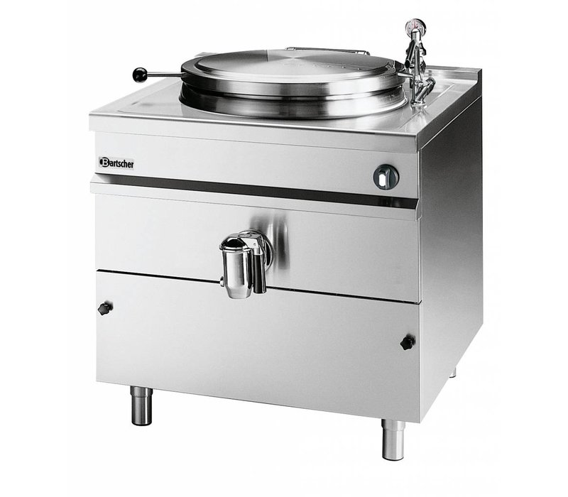 Bartscher Elektrische Kookketel Indirecte Verhitting - 300L - 1150x1300x(h)900mm - 36KW