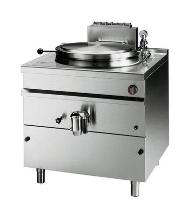 Bartscher Gas Kookketel Indirecte Verhitting - 150L - 900x900x(h)900mm - 21KW