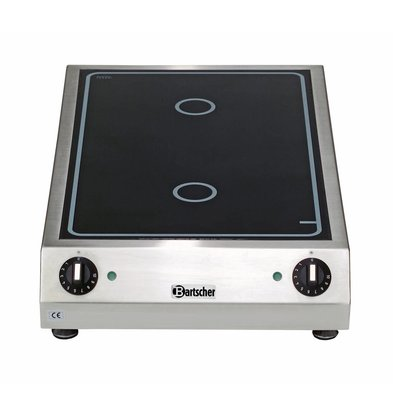 Bartscher Keramisch Elektrisch Kooktoestel | 3 kw | 400x655x(H)120mm