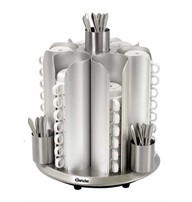 Bartscher Cup Heater Tabletop | 48 cups | 200W | XXL OFFER!