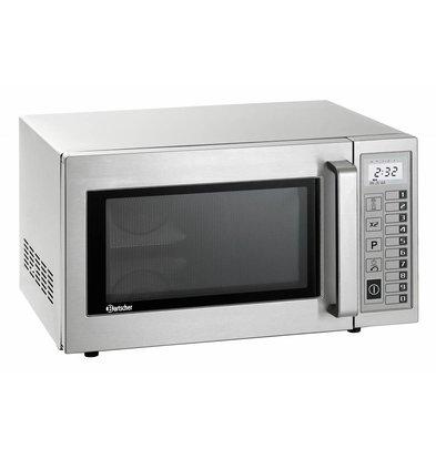 Bartscher Microwave oven DIGITAL - 25 liters - 1000 Watt