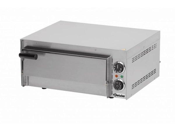 Bartscher Pizza Oven Enkel Elektrisch | 1 Pizza 35cm | Mini 1 | 545x500x(H)230mm