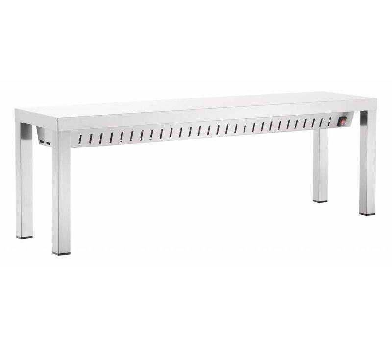Bartscher Warmtebrug - RVS - 230 V - 800x300x(H)400 mm