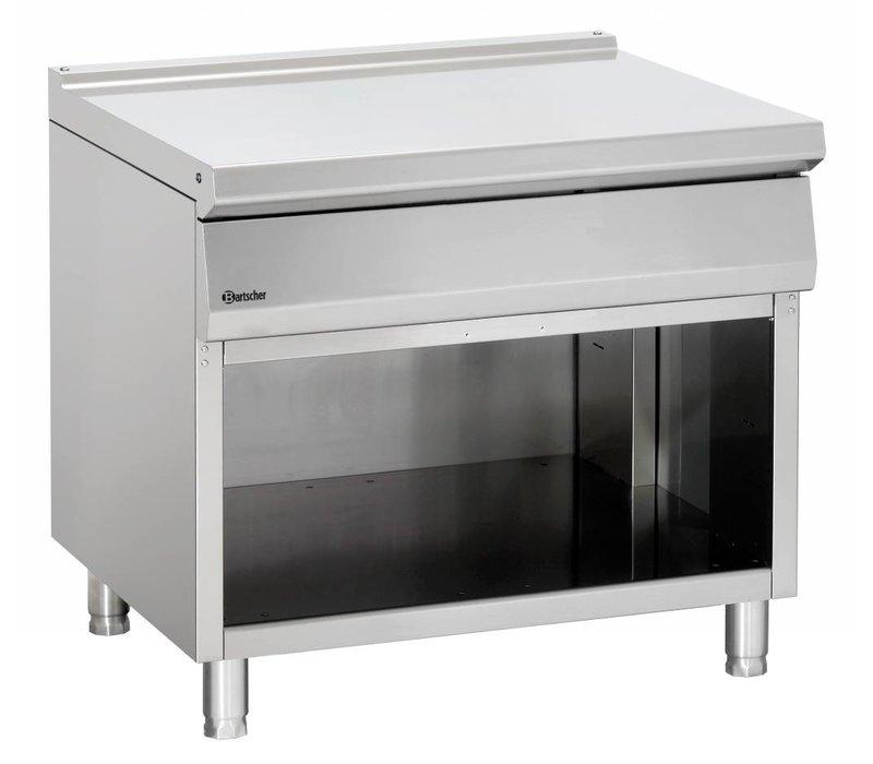 Bartscher Neutraal element met open onderbouw Serie 900