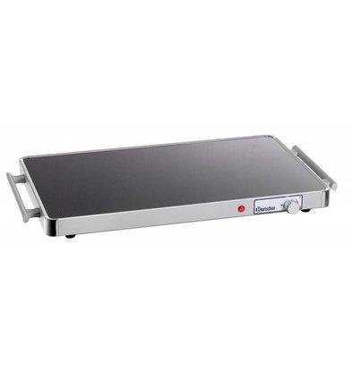 Bartscher Electric Hot Plate - Glass - 1/1 GN - 57x31x (h) 4cm