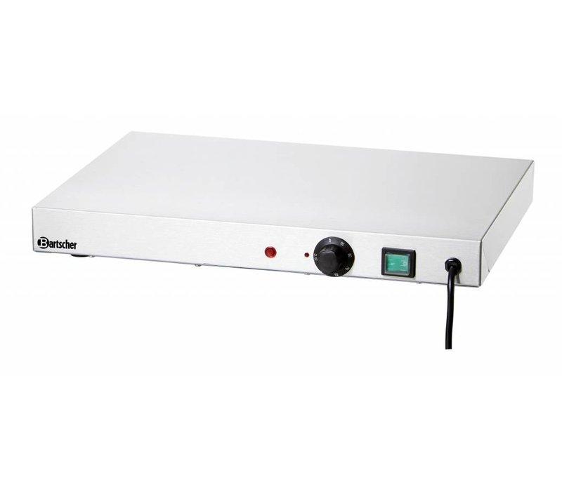Bartscher Elektrische Warmhoudplaat - RVS - 50x37,5x(h)6,4cm