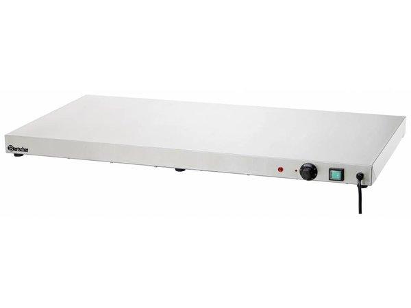 Bartscher Elektrische Warmhoudplaat - RVS - 100x50x6cm