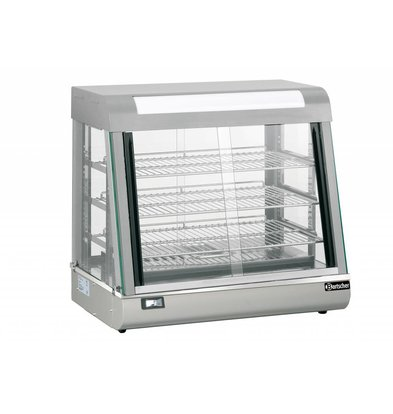 Bartscher Heating Stainless Steel Stainless Steel - 3 Grids - Front and Rear Edges - 110L - 660x437x (h) 655mm