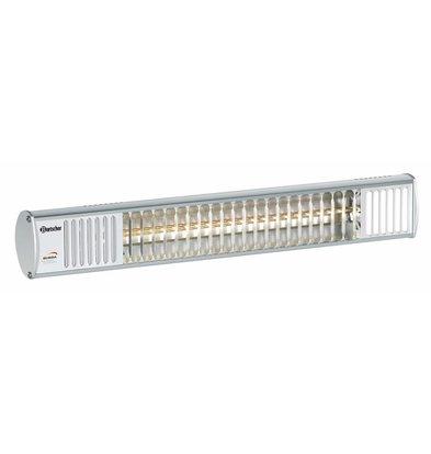 Bartscher Electric Infrared Heater TERM 2000 IP67 - 600x125x (H) 100 mm