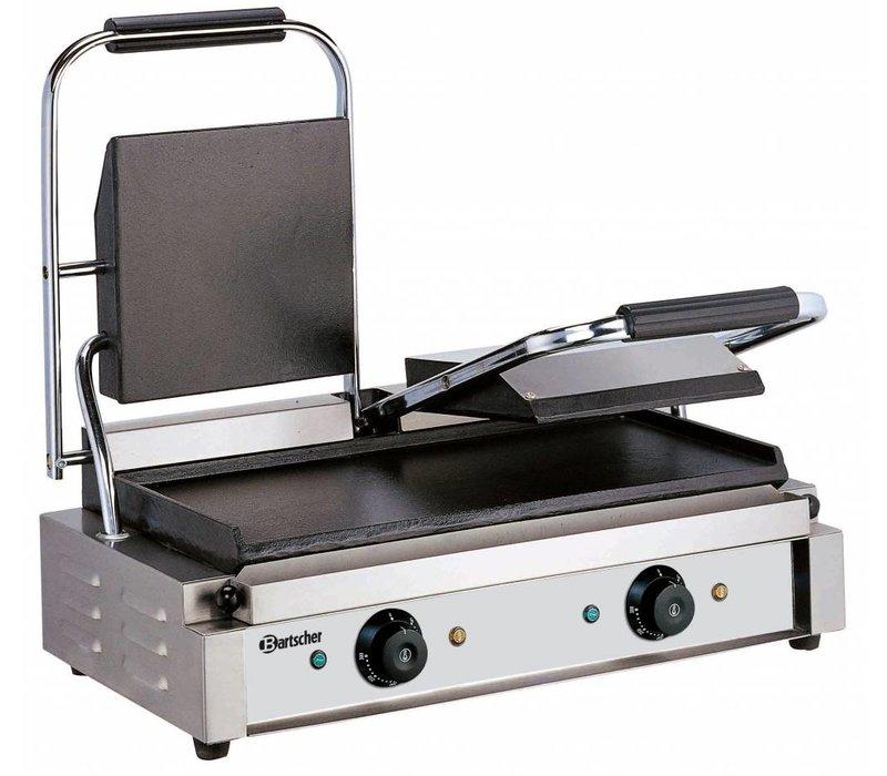 Bartscher Elektrische dubbele contact grill - Glad/Glad - 57x37x(h)20 - 3600W