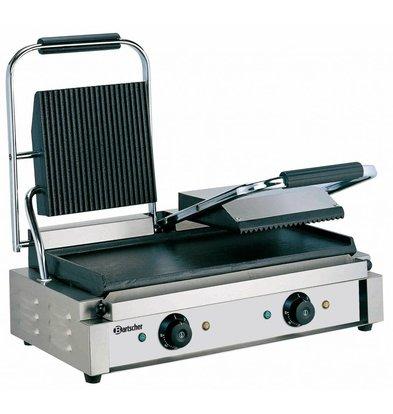 Bartscher Elektrische dubbele contact grill - 57x37x(h)20 - 3600W