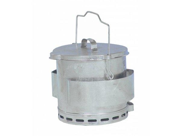 Bartscher Frituurvet Opvangemmer | Inhoud 12 Liter | Ø280x(H)400mm