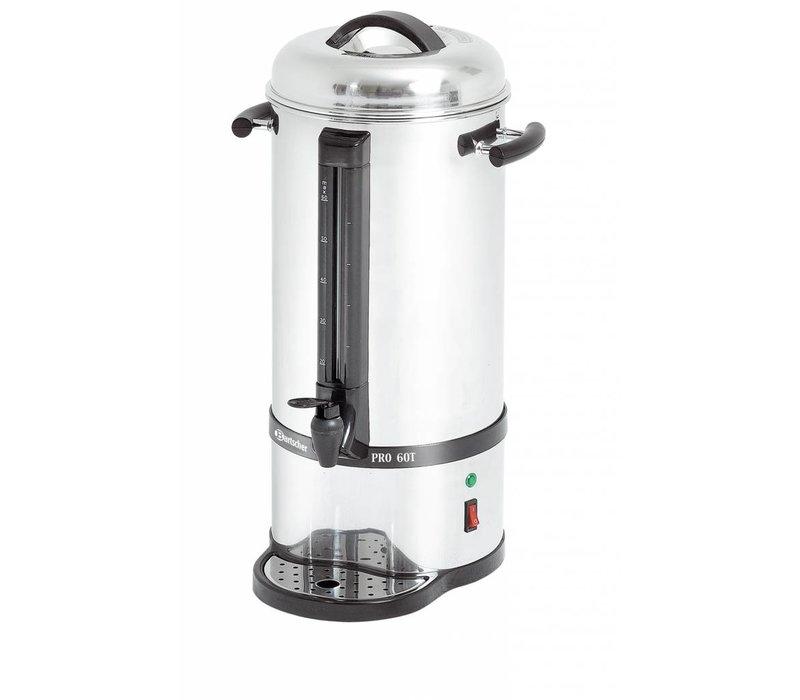 Bartscher Percolator RVS | Met Kopjesstandaard | Ø220x(H)545mm | 72 Kopjes | 9 Liter