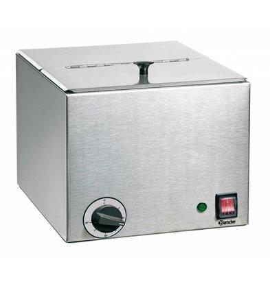 Bartscher Worstenwarmer Bain Marie - 1,0 kW - 1/2 of 1/4 GN - 270x360x(H)240mm